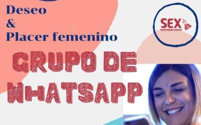 Grupo de Whatsapp DESEO & PLACER femenino